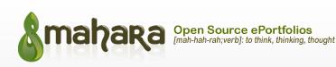 Mahara -GEO&GES E-Portfoliosystem